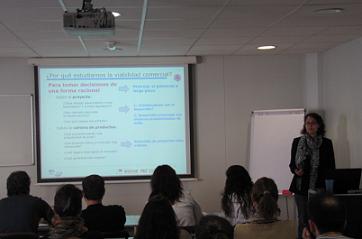 Sesión de Formación en el IISM, 24 de abril de 2014