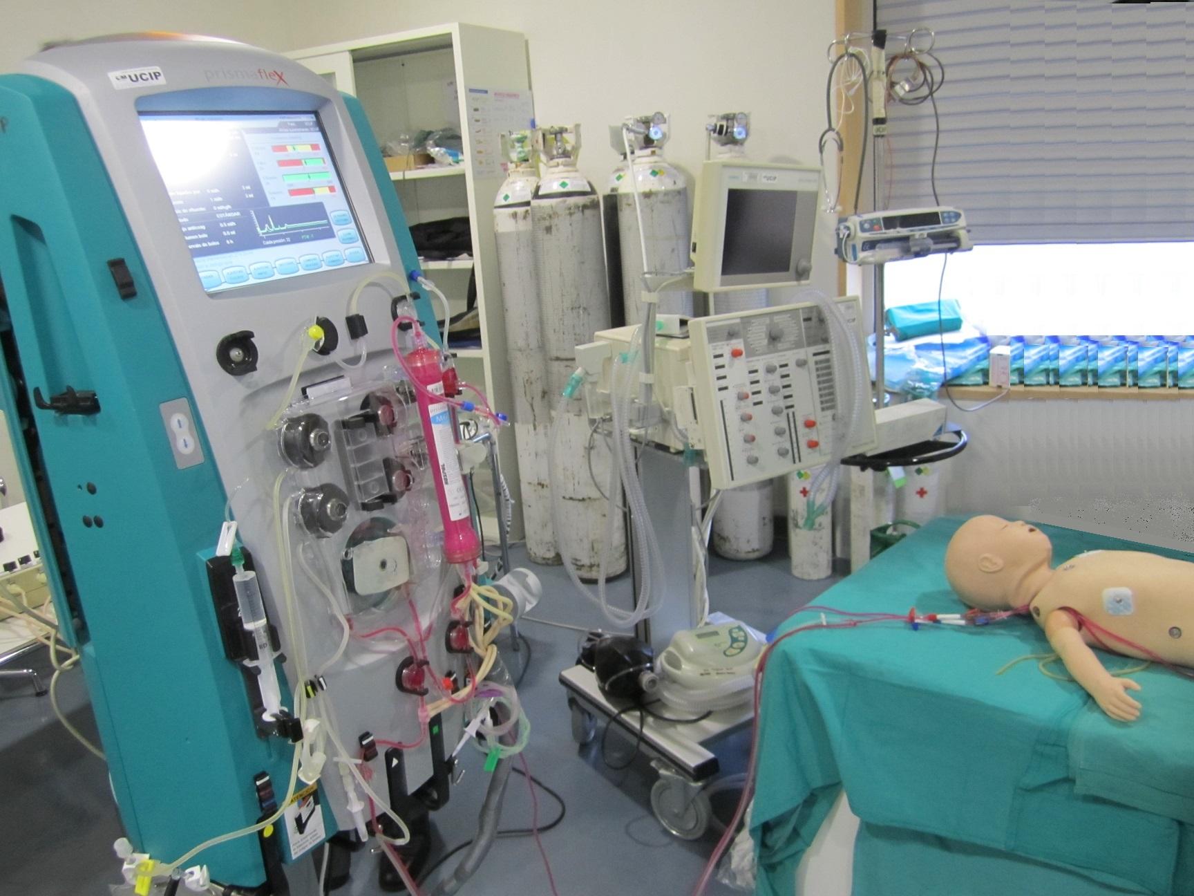 Simulador de hemofiltración